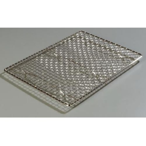 Carlisle Chrome Plated Steel Wire Mesh Icing Grate Only, 17 x 11 inch - 1 (Mesh Icing Grate)