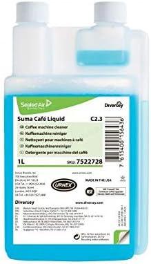 Cafetera eléctrica limpiador Diversey suma Cafe Liquid c2.3 1 L ...