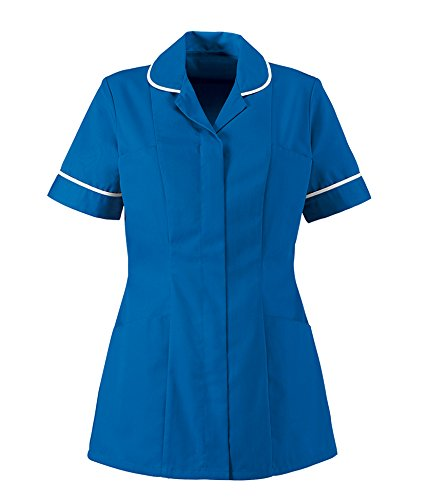 0d6c32374c7 Alexandra Workwear HP298 Womens Healthcare Tunic Blade Blue 8 - Buy ...