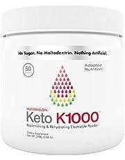 Keto K1000 Electrolyte Powder | Boost Energy & Beat Leg Cramps | No Maltodextrin or Sugar | by Hi-Lyte | 50 Servings