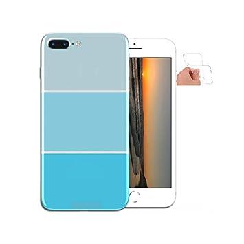 coque iphone 8 plus bleu pastel