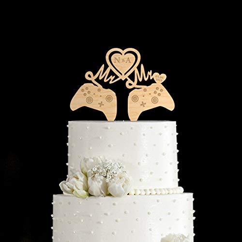 Suopinging Gay Man Wedding Video Game Xbox Cake topperMr and mr Gamer Wedding Xbox Cake toppermr mr Cake topperVideo Game mr and mr Topper