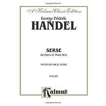 Serse (1738): Italian Language Edition, Miniature Score