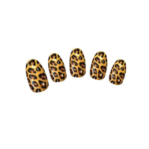 Shari Nail Art Tip Flower Leopard Print Animal Decal Wrap Water Transfer Sticker Sheet M76