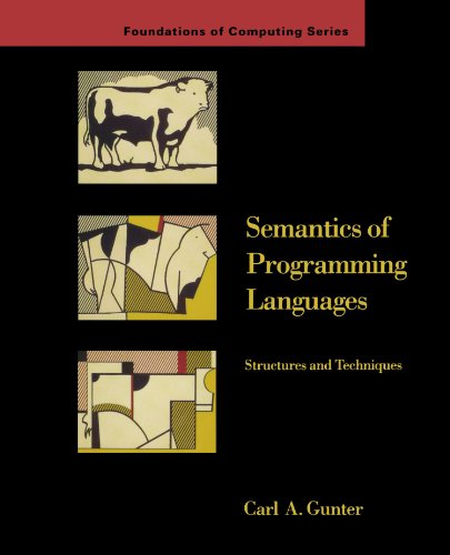 Semantics of Programming Languages: Structures and Techniques (Foundations of Computing)