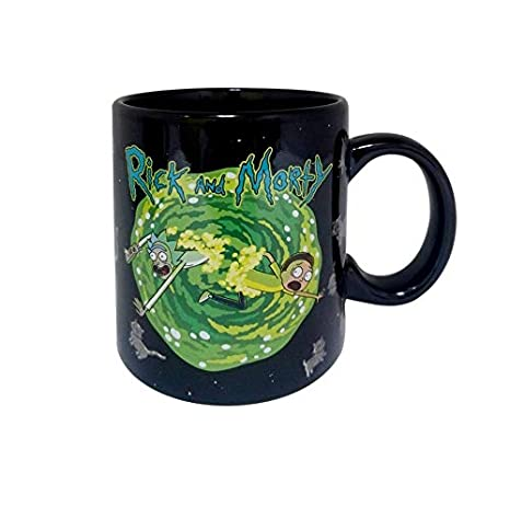 Officially Licensed Heat-Changing Rick and Morty 16-Ounce Mug
