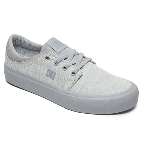 Grey Top Sneakers Women's Light Kco DC Trase Se Low J Tx 408vw7q