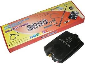 WIFISKY ANTENA ADAPTADOR USB WIFI WIFI-SKY 3000mW ...