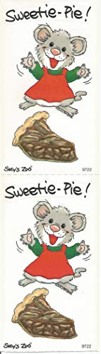 (Suzy Zoo Tilly Mouse Sweetie Pie Sticker Strip of 2 Modules)