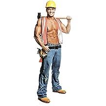SC529 Bill Construction Worker Chippendale Cardboard Cutout Standee Standup