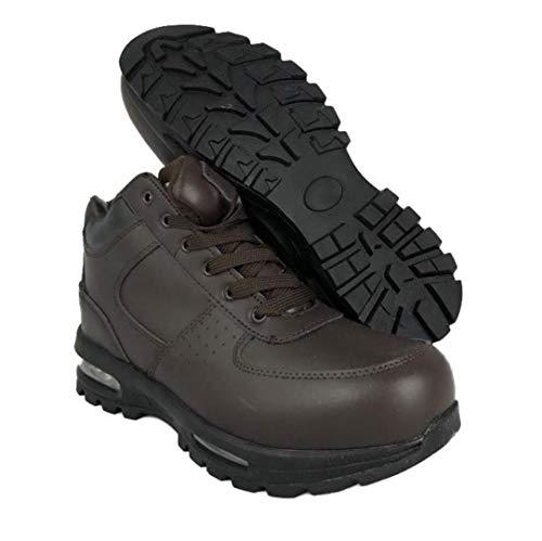 LABO Men's Black Black Black Hiking Leather Boot Air Heel #5712 B07GGQ9LS9 Shoes d88218
