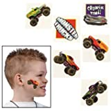 72 Monster Truck Temporary Tattoos by Fun Express