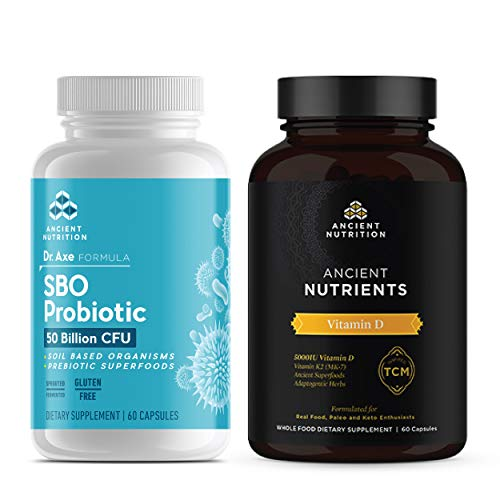 Ancient Nutrition SBO Probiotic + Vitamin D