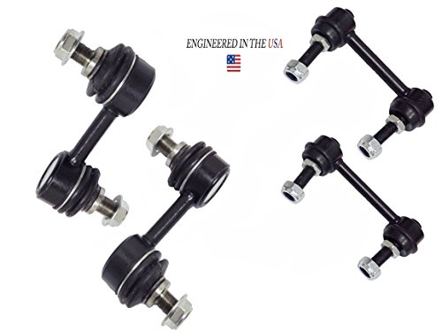 (4PC Front/Rear Sway Bar Links For Subaru 2005-2009 Legacy and Outback(K750049 K750023 K90468)