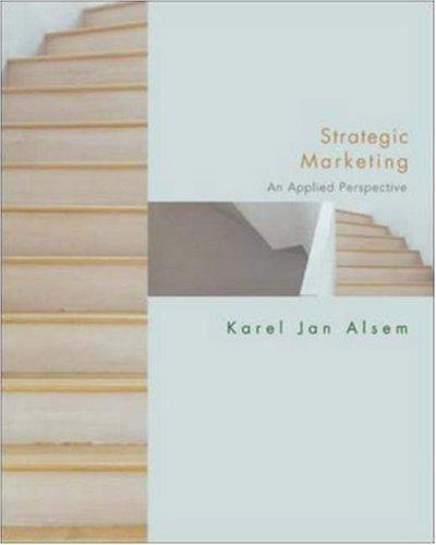 Strategic Marketing: An Applied Approach