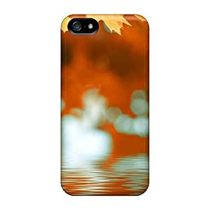 Fashionable Style Case Cover Skin For Iphone 5/5s- Autumn Ripples
