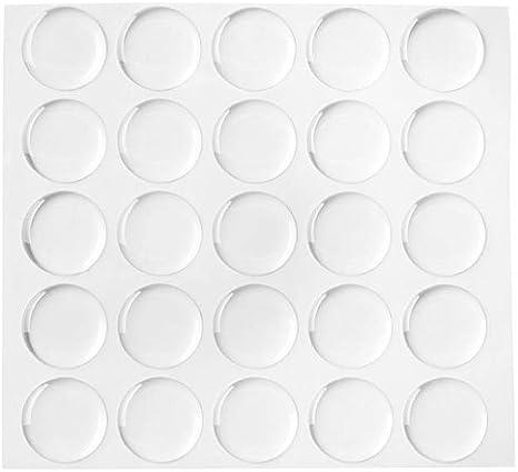 1 Epoxy Dots 100 teilige Epoxy Dome Aufkleber Epoxy Resin Aufkleber klar
