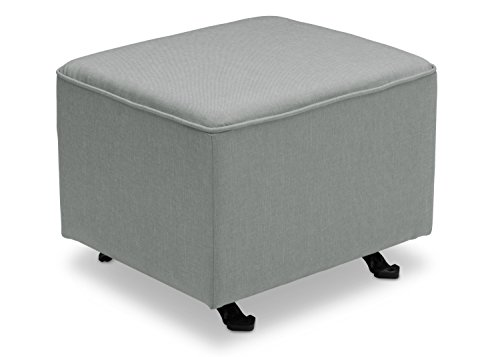 - Delta Furniture Gliding Ottoman, Sea Breeze