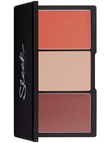 - Sleek MakeUP - Limited Edition Blush By 3 SANTA MARINA Blush and Highlighting Powder for all Skin Tones, 20g