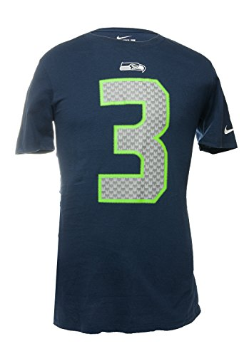 Nike Men's Seattle Seahawks NFL Russell Wilson Tee Shirt - 4XL