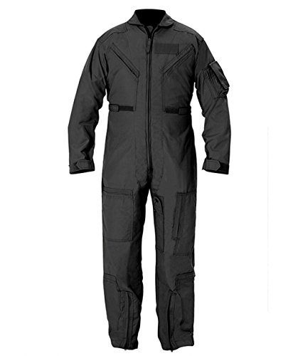 Propper Cwu 27/P Nomex Flight Suit,Black,42 Regular
