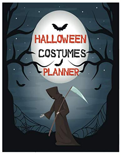 Political Costume Ideas (Halloween Costumes Planner: Design Costume and Cosplay Ideas in Halloween Party day with Halloween Coloring Book | Halloween Gift)