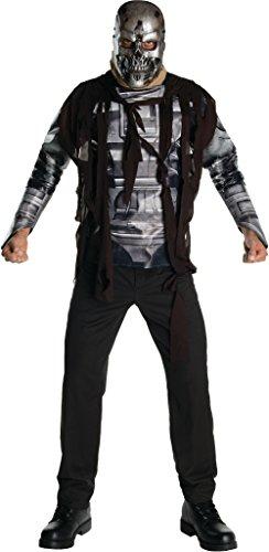 Robot Man Adult Costumes (Terminator Salvation Movie Costume T600, Standard)