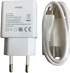 Vivo Quick charge 9V-2a USB Wall Charger adapter and Cable micro - white