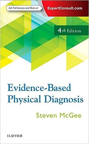 Evidence based physical diagnosis 9780323392761 medicine health evidence based physical diagnosis 4th edition fandeluxe Choice Image