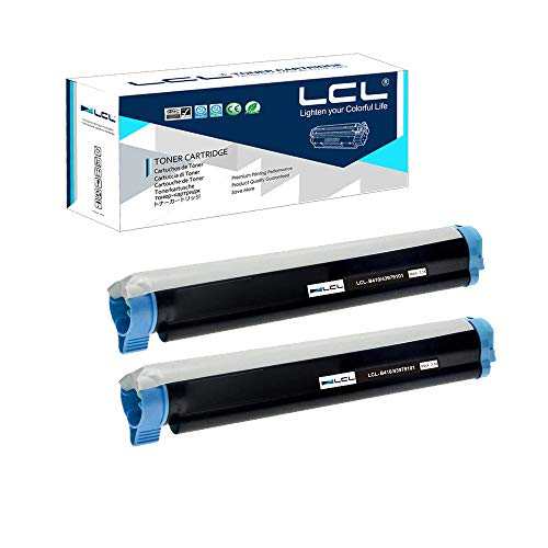 - LCL Compatible Toner Cartridge Replacement for OKI B410 43979101 B410d B410dn B420 B420d B420dn B430 B430d B430dn B440 B440d B440dn B460 MB460 MB470-MFP B480 MB480 MB480-MFP (2-Pack Black)