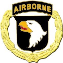 US Army 101st Airborne Division Lapel Pin or Hat