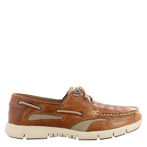(Sebago Mens Clovehitch Lite Brown/Tan 9 M)
