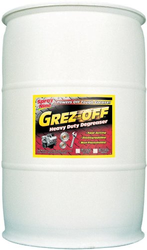 Spray Nine 22755 Grez-Off Heavy Duty Degreaser - 55 Gallon