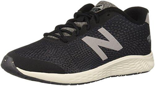 New Balance Boys' Arishi Next V1 Running Shoe, Black/Magnet, 2.5 W US Little Kid