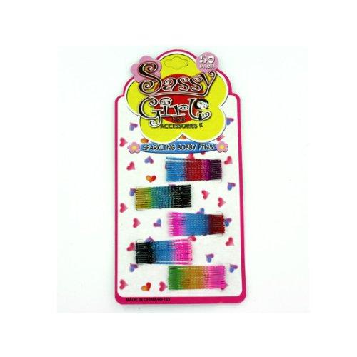 Sparkling Bobby Pin Set 24/Pack (4 Pack)