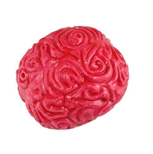 Brain Stress Ball (Play Visions Brain Buster Novelty Stress Ball, 6 X 5 X 4 inches)