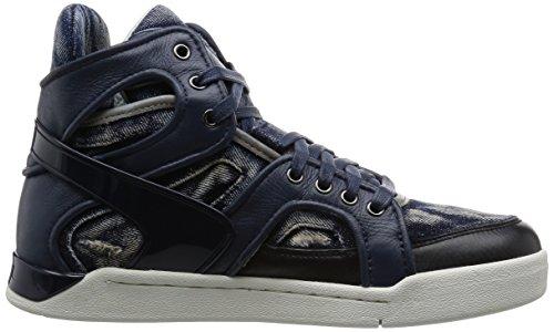 Diesel Heren Tempus S-titann Fashion Sneaker Blauwe Iris