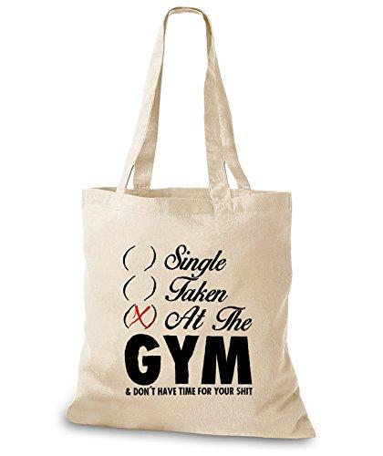 StyloBags Jutebeutel / Tasche Single Taken At The Gym Natur