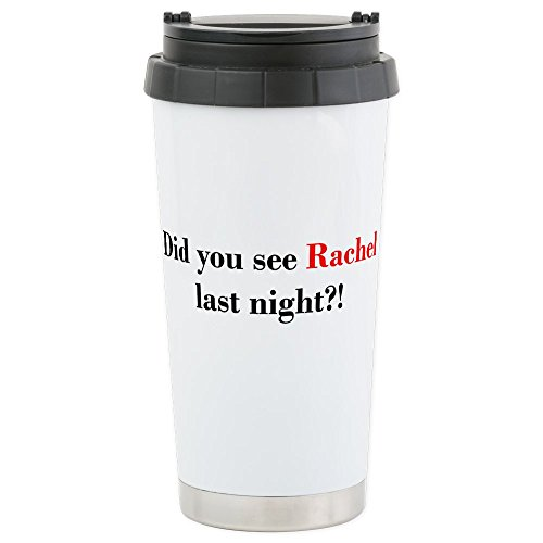 Cafepress   Rachel Fan Stainless Steel Travel Mug   Stainless Steel Travel Mug  Insulated 16 Oz  Coffee Tumbler