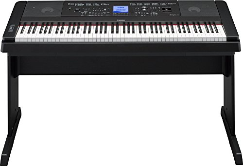 Yamaha P115 88-Key Weighted Action Digital Piano with Sustain Pedal, Black