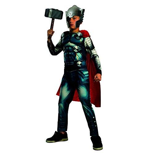 Cute Super Villain Costumes (Marvel Universe Avengers Assemble Thor Costume, Large)