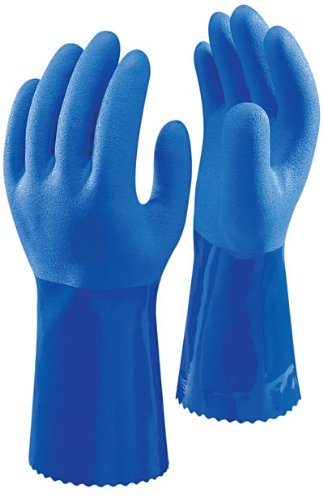 10 Pairs Of Showa 660 PVC Dipped Oil Resistant Safety Work Gloves Size 11 / XXL by Showa