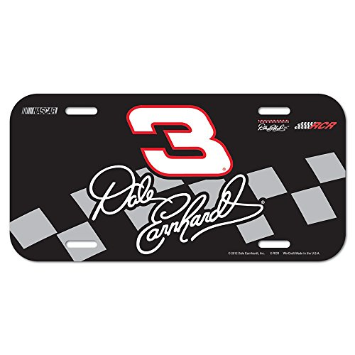NASCAR Dale Earnhardt License Plate (Dale License Plate Earnhardt)