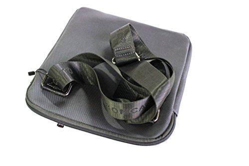 Borsello uomo Roncato tracolla piatta porta tablet 46.59.02 grigio moda italiana