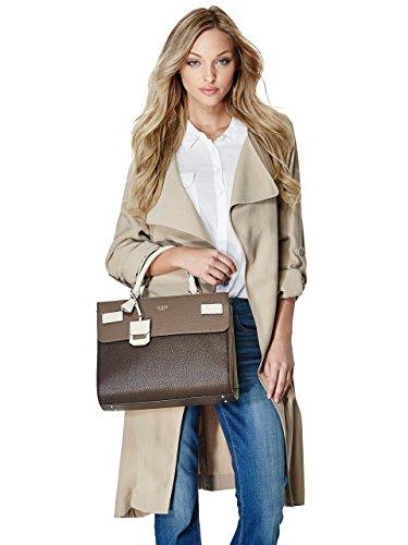 Guess HWNC6216060, Bolso Mujer Brown Multi (Marrón)