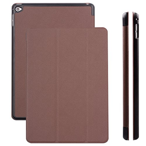 Apple iPad Mini 4 Case | Hippo brown | iCues Ancho Cover with Stand | other Leather - and colour variations available | Protective Flip Wallet with gift - Vouchers Available Gift