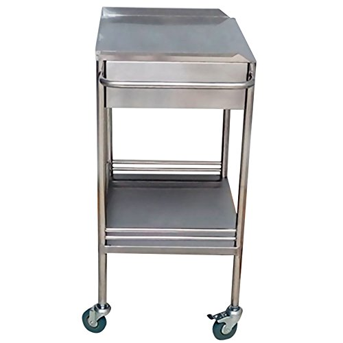 Miidii Stainless Steel 2 Layers With One Drawer Portable