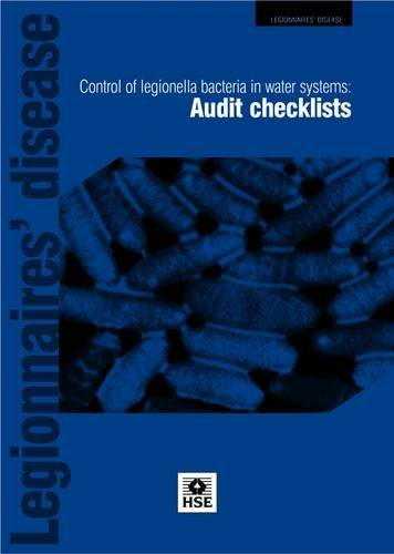 Legionnaire's Disease: Control of Legionella Bacteria in Water Systems: Audit Checklists (Leaflet) PDF