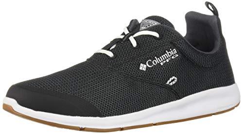 Columbia PFG Men's Delray CVO PFG Boat Shoe, Black, White, 9 Regular US ()