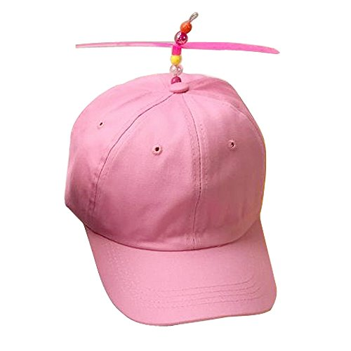 a107396dd38 Amazon.com  GEANBAYE Adult And Child Both Size Funny Baseball Style  Multicolor Optional Propeller Hat  Clothing